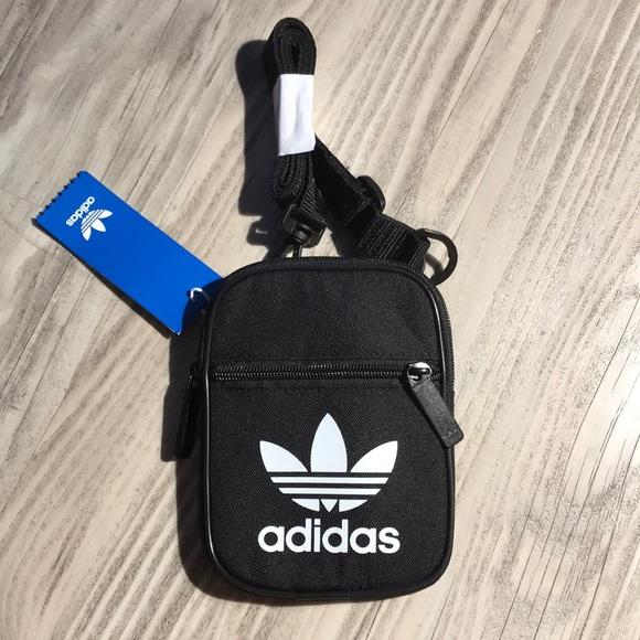 71239430fa Adidas Trefoil Festival Crossbody side bag Black